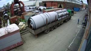 Отгрузка газоходов БоАЗ