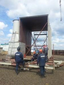 Укрупнительная сборка технологического оборудования БоАЗ