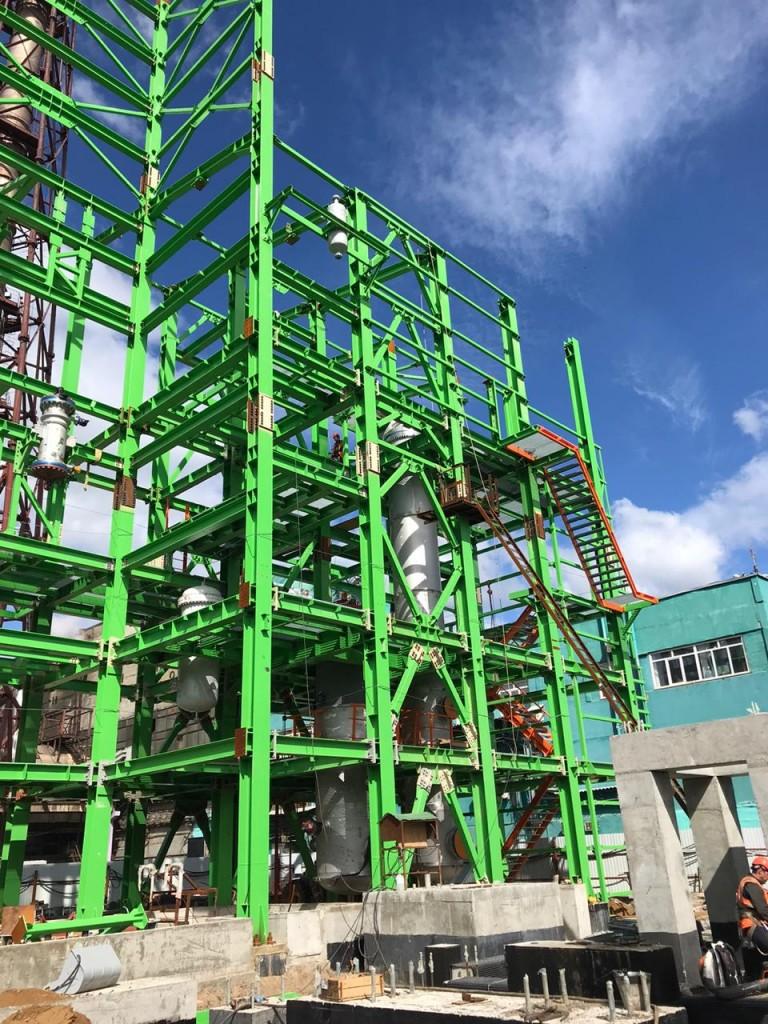 5 Параллельный монтаж оборудования и металлоконструкций