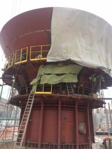 4 Монтаж башни объемом 12 000 м3