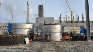 5 Укрупнительная сборка и монтаж баков из нержавеющей стали