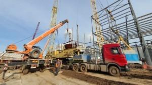 7 Доставка на объект дополнительного крана грузоподъемностью 100 тн.